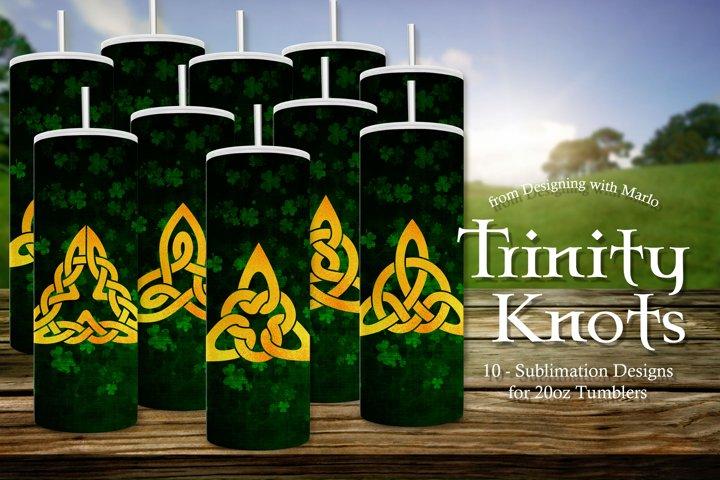 Trinity Knots Tumbler Sublimation Designs