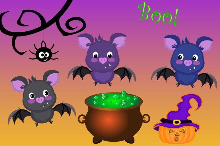 Vector Halloween Bats