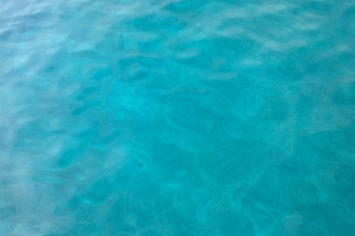 Blue sea water surface for background