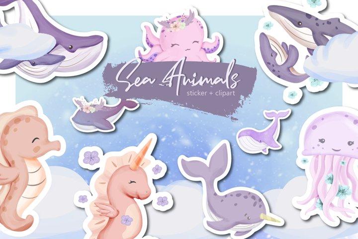 Sea Animal Collection Set