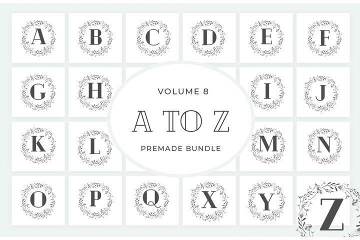Vol.8 Alphabets Logo Templates