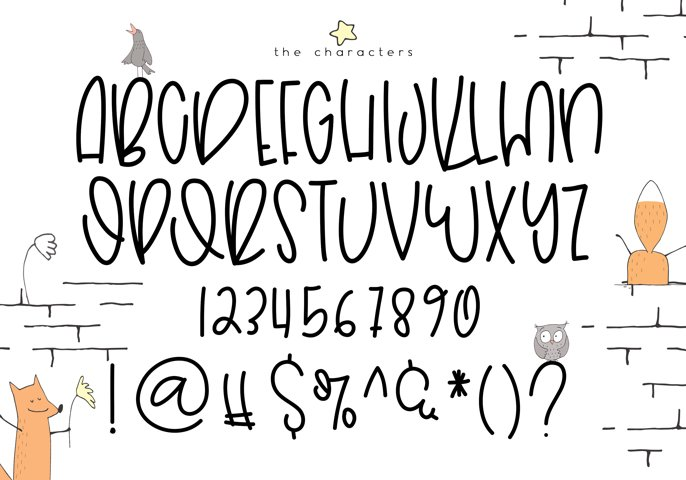 Hoptrot - A Cute Handwritten Font - Free Font of The Week Design0