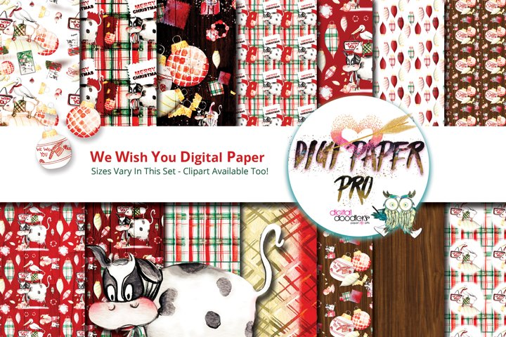 We Wish You Digital Paper