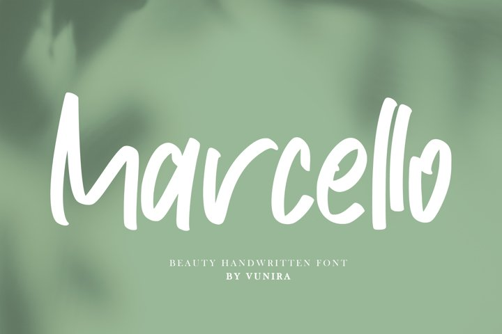 Marcello | Beauty Handwritten Font