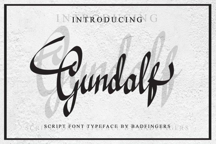 Gundalf font