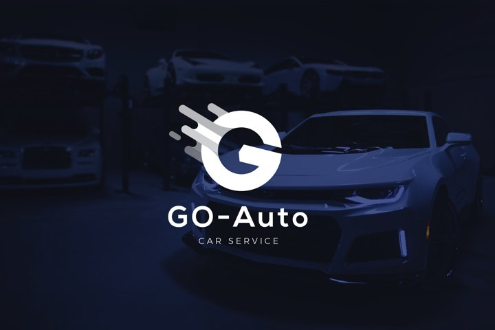 Letter G - Car Service Repair Logo