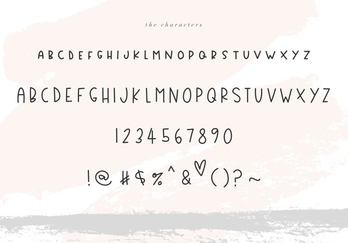 Country Market - A Handwritten Display Font - Free Font of The Week Design2