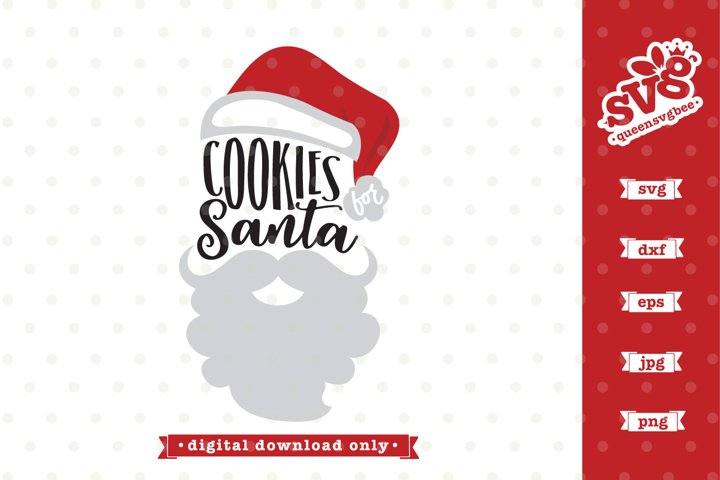 Cookies for Santa SVG file | Christmas Cookies SVG design