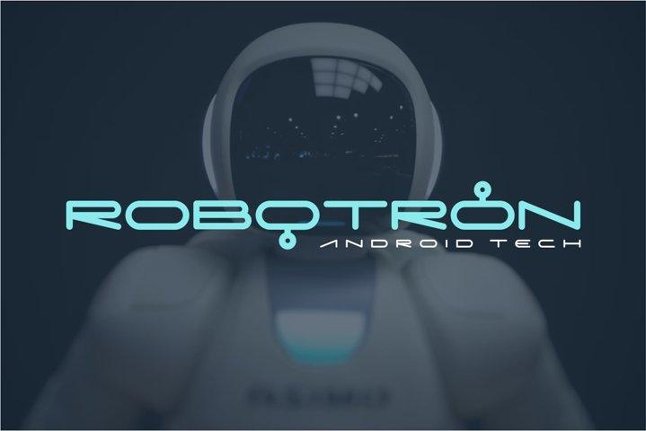 Digitechno - Futuristic Font example 2