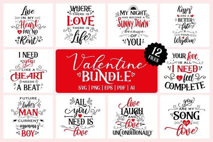 Valentine bundle V1| 12 files