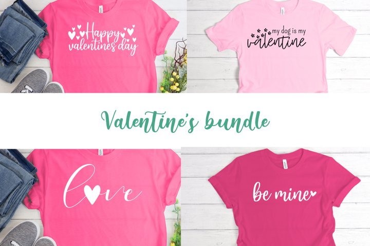 Valentines Day bundle, svg files, png files