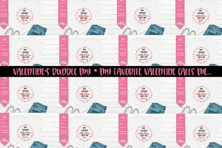 My Favorite Valentine Calls Valentines Day Bundle