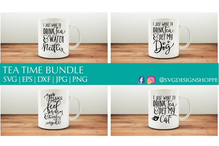 Tea Time SVG Bundle