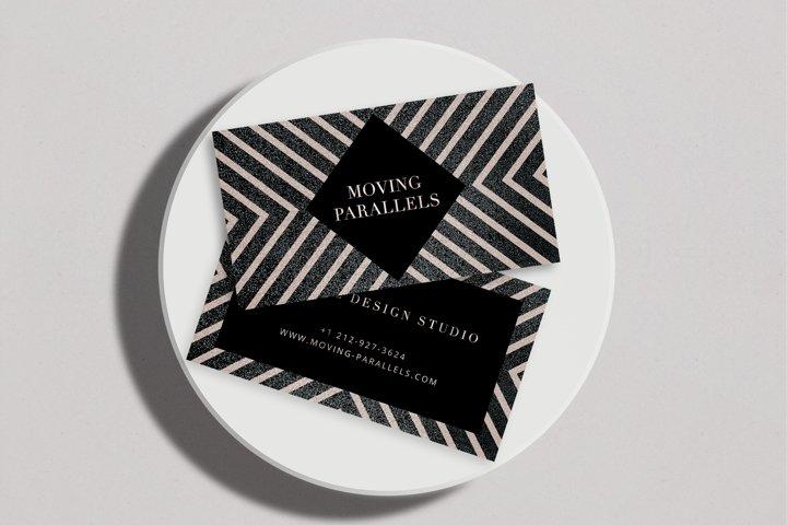 CANVA | Elegant Gold Business Card 6
