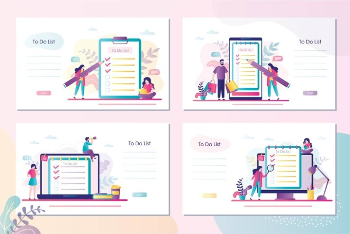 To do list banners template