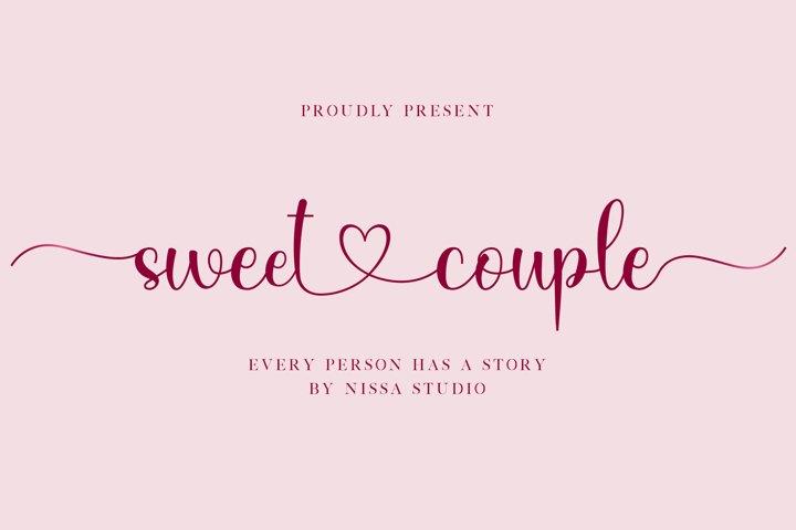 Sweet Couple - Lovely Script Font