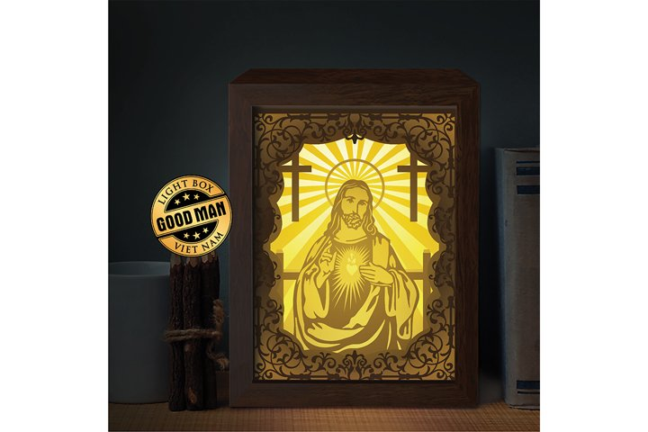 Colosseum 1 3D Paper Cutting Light Box - Shadow Box