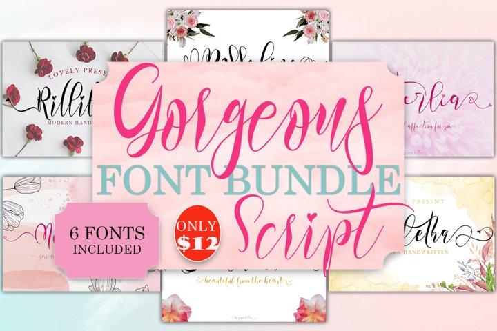 Gorgeous Script Font Bundle