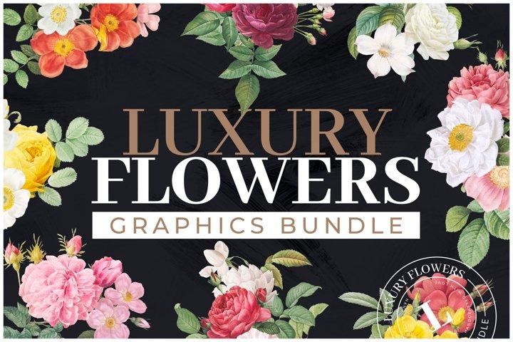 50 Luxury Flowers Bundle PLUS BONUS