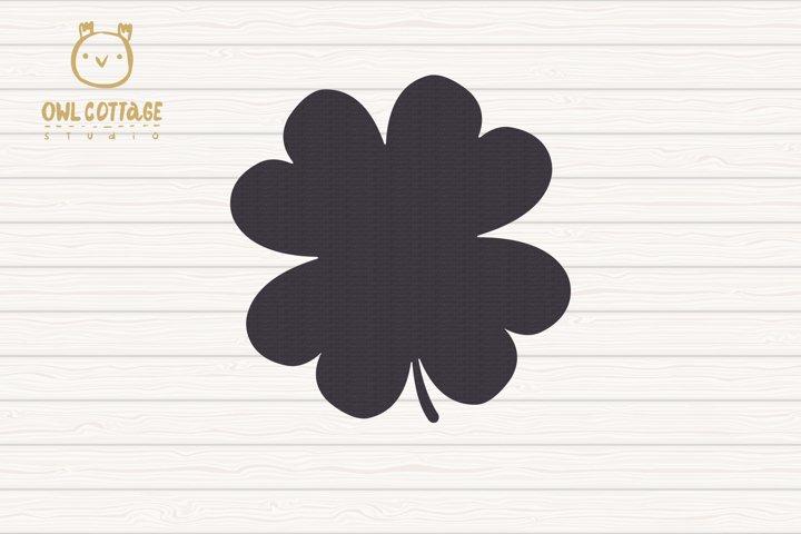 St. Patricks day svg, Clover Leaf, Clover Leaf Tattoo example 3