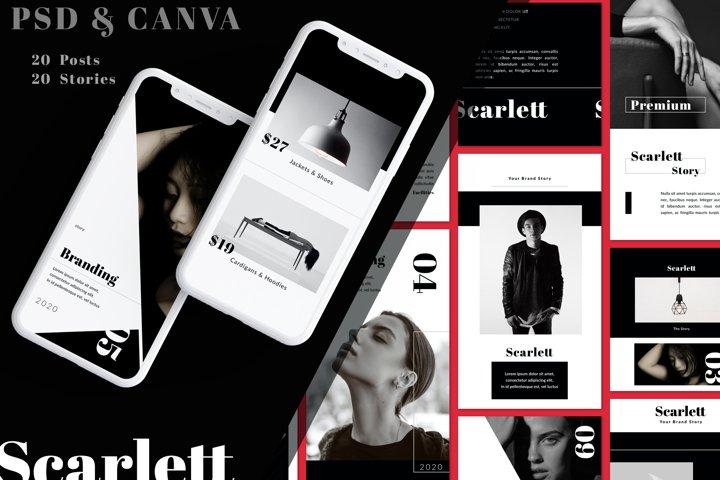 Scarlett - Instagram Templates