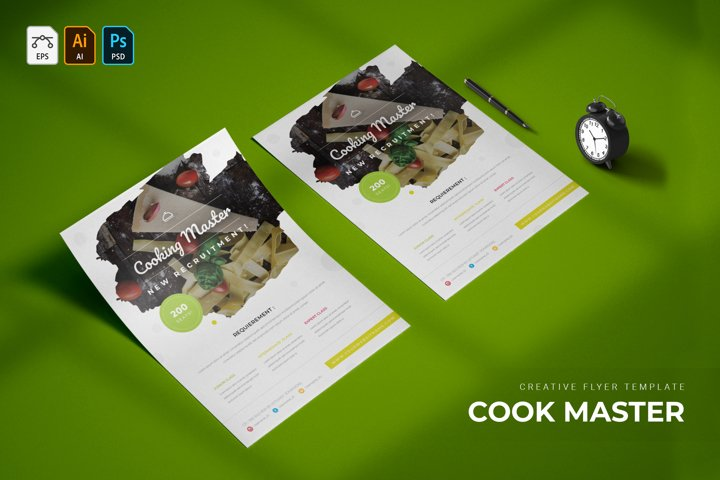 Cooking Master | Flyer