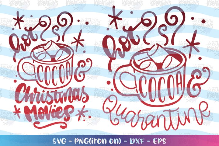 Christmas svg Hot Cocoa Cutie