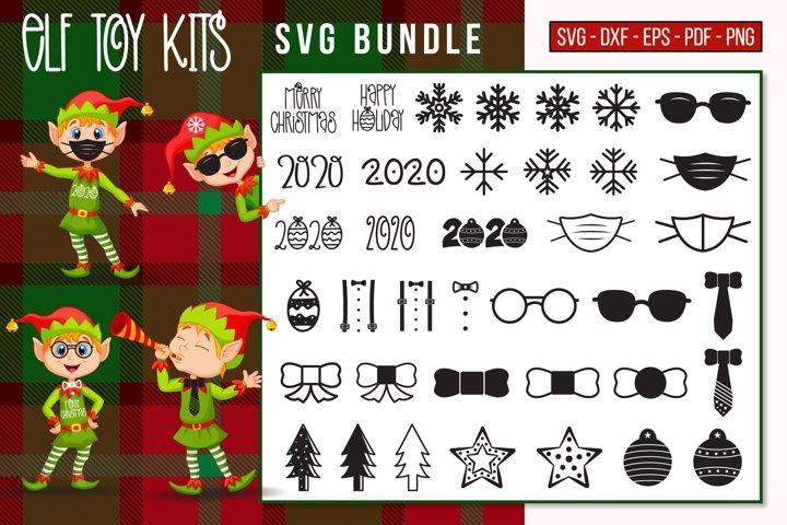 ELF Toy Kits SVG Bundle, Christmas SVG, ELF Kits Bundle SVG
