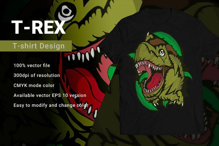 Trex | T-Shirt Design
