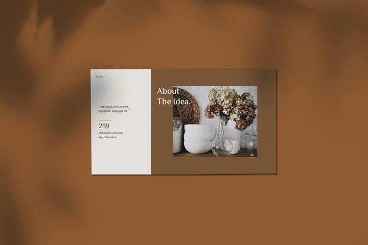 Sasqia - Minimalist Keynote Template