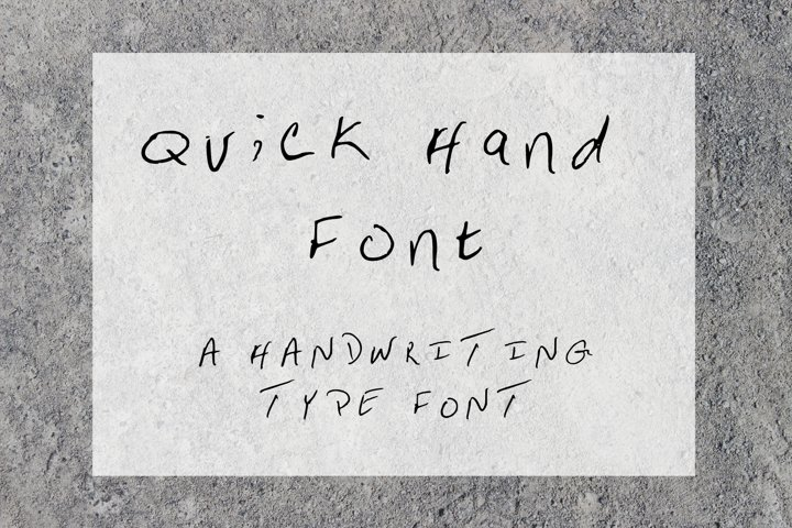 Quick Hand