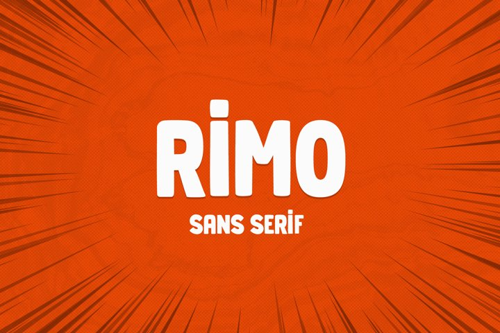 Rimo - Sans Serif