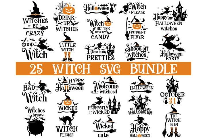 Witch SVG Bundle, Witch Svg Files, Halloween SVG Bundle