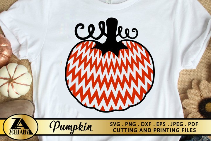 Pumpkin SVG PNG EPS DXF Pumpkin Clipart Halloween Pumpkin