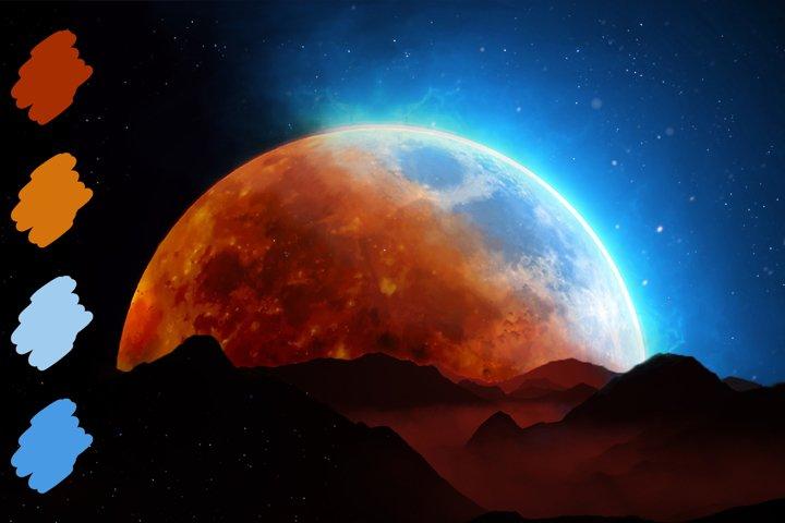 Moon Swatches