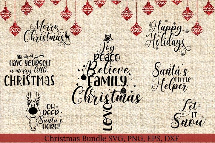 Christmas Bundle SVG