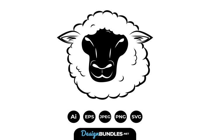 Sheep Heads Illustrations