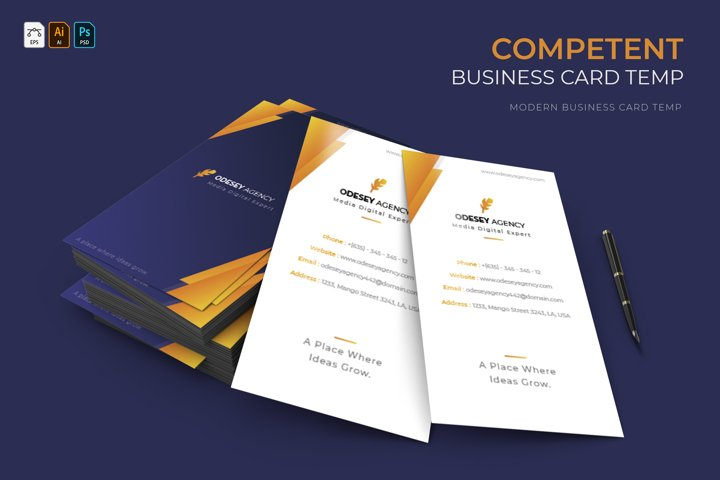Competent | Business Card