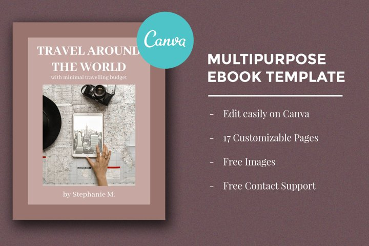 Multipurpose Ebook Template - Edit on Canva