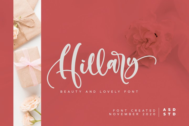 Hillary - Beauty and Lovely Font