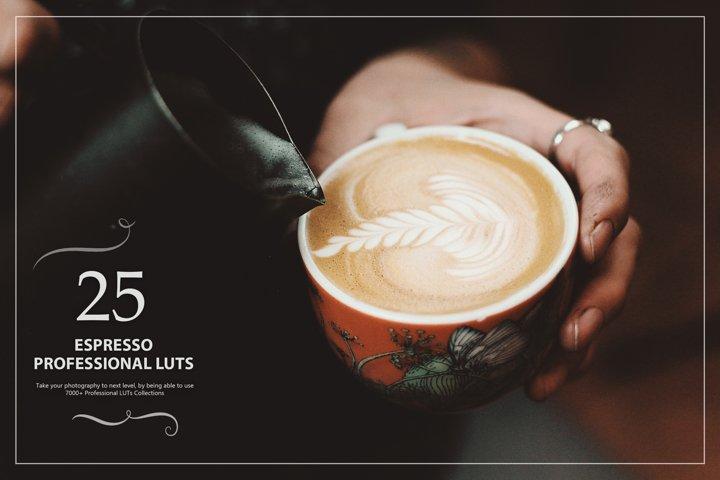 25 Espresso LUTs Look Up Tables