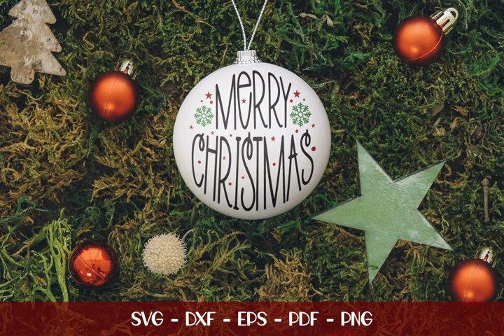 Merry Christmas, Christmas Design, Christmas SVG Cut File
