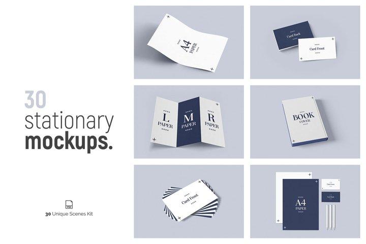 Stationery & Branding Mockups Vol.3