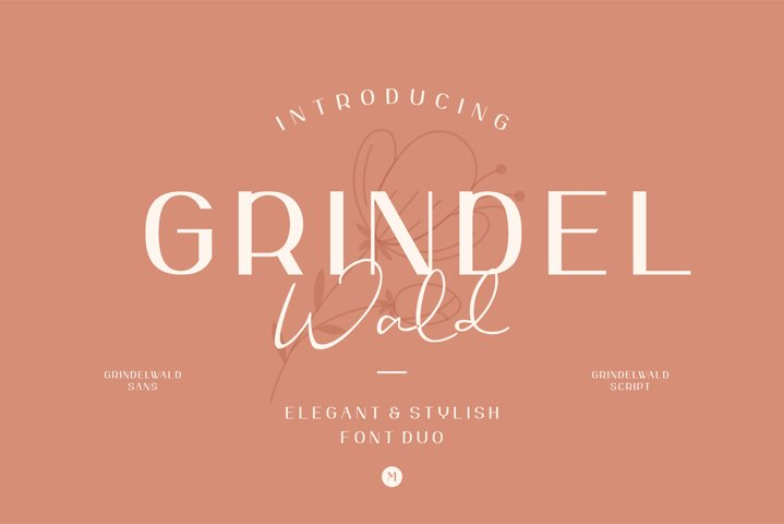 Grindelwald Font Duo