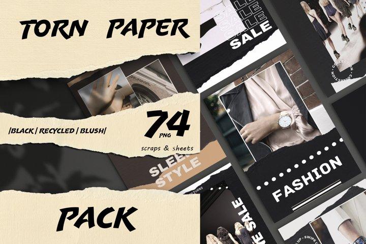 Craft Torn Paper Pack