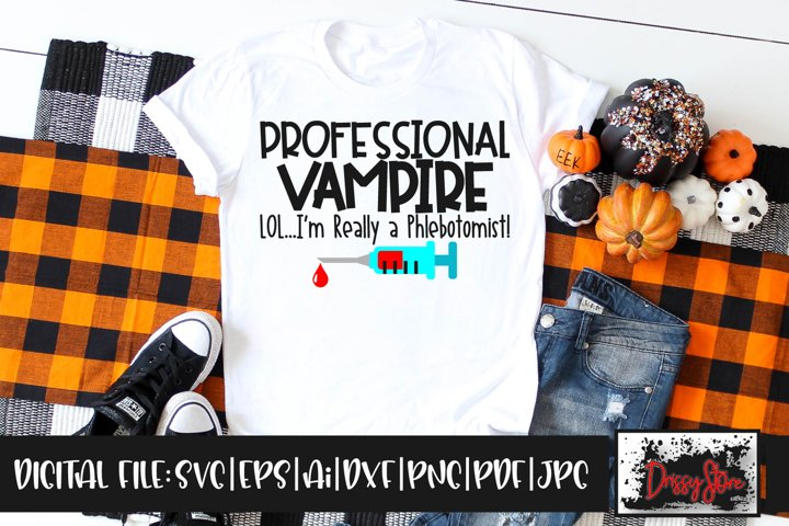 Professional Vampire SVG DXF Ai EPS PDF PNG JPG