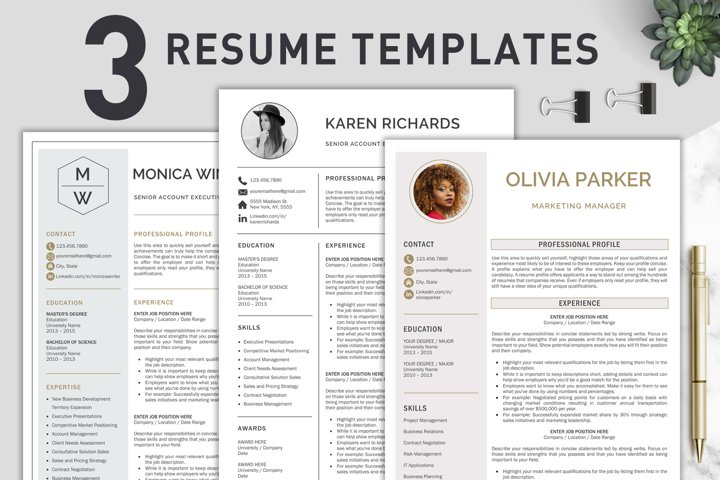 Resume Template / CV Templates Bundle