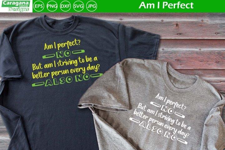 Am I Perfect