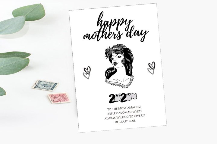 Happy Mothers Day 2020, Schitts Creek Card,Instant Download