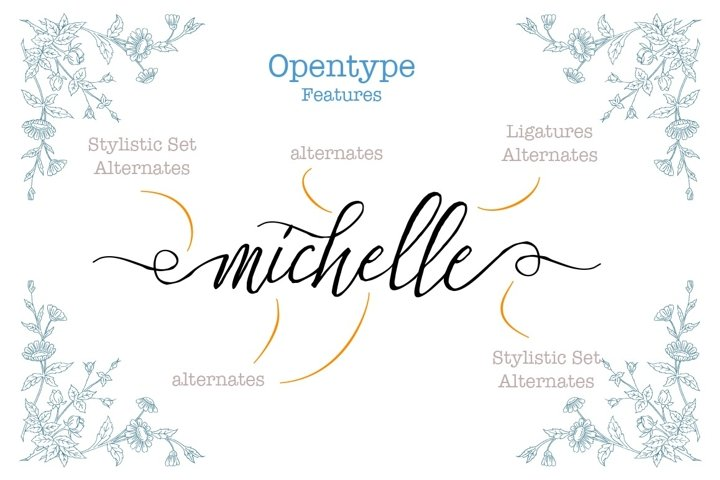 Stefhanie Typeface - Free Font of The Week Design0